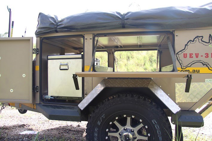 Popular  AUSTRALIA UEV490 Evolution For Sale  Camper Trailer Australia
