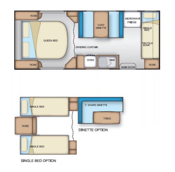 Coromal Element B586 Floor Plan