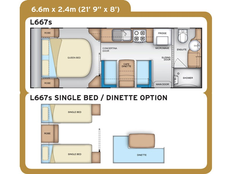 Coromal Lifestyle L667s Floor Plan