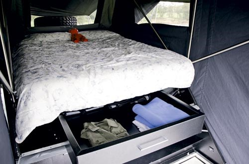 Rhinomax Campers Outback Warrior RX Interior
