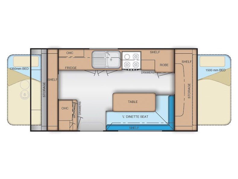 Coromal Transforma MT450 Floor Plan