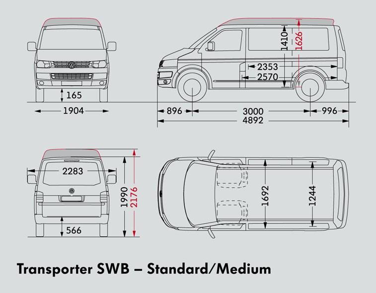 new volkswagen transporter swb van light commercial for sale