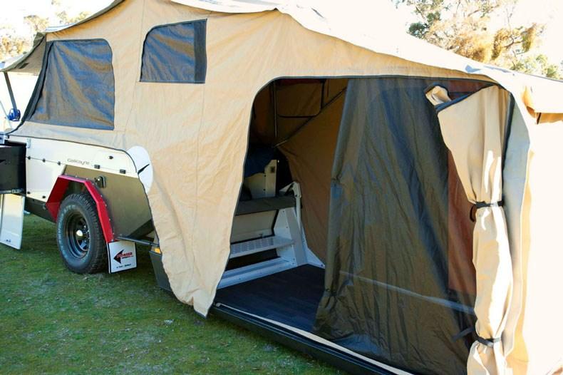 New Pioneer Camper Trailers Gascoyne Camper Trailers For Sale
