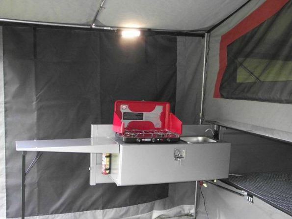 Bayside Camper Trailer Russell