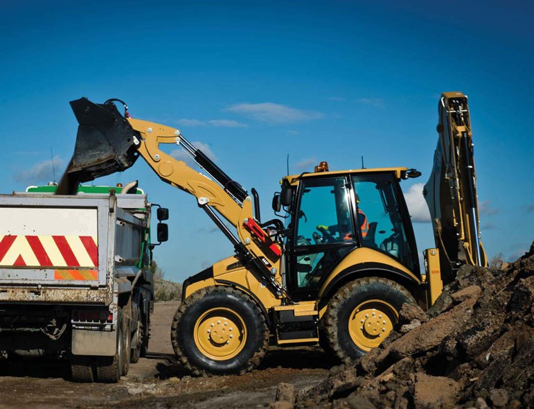 Caterpillar 444F Backhoe Loader