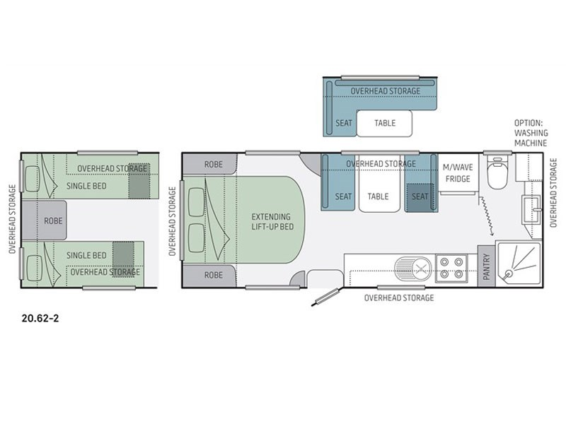 Jayco Starcraft 20.62-2 Floor Plan