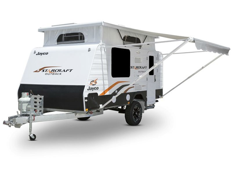 Jayco Starcraft Pop Top Caravan