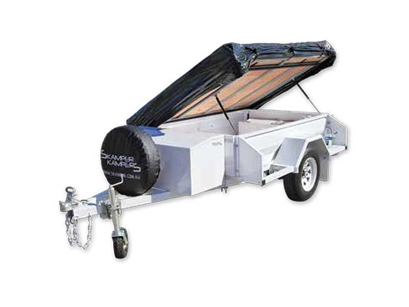 Skamper Kampers Kampa Heavy Duty On Road Campertrailer