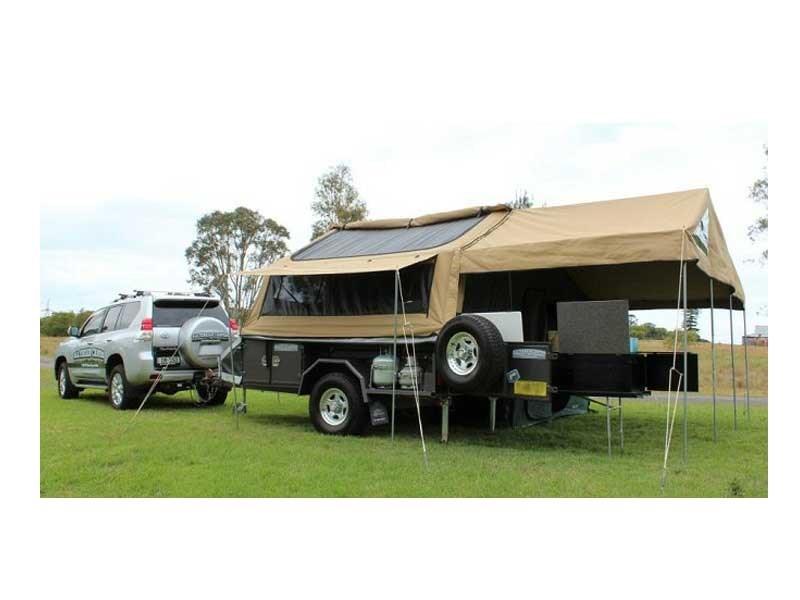 All Terrain Campers >> New All Terrain Camper Trailers Tourer Full Off Road Camper