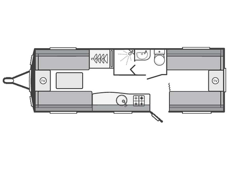 Swift Sterling Eccles Sport 640 Layout