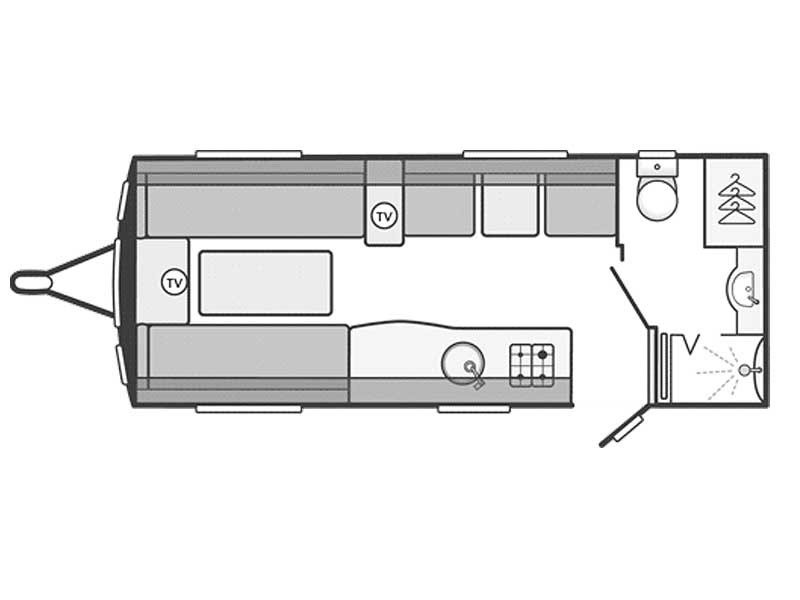 Swift Challenger SE 530 Layout