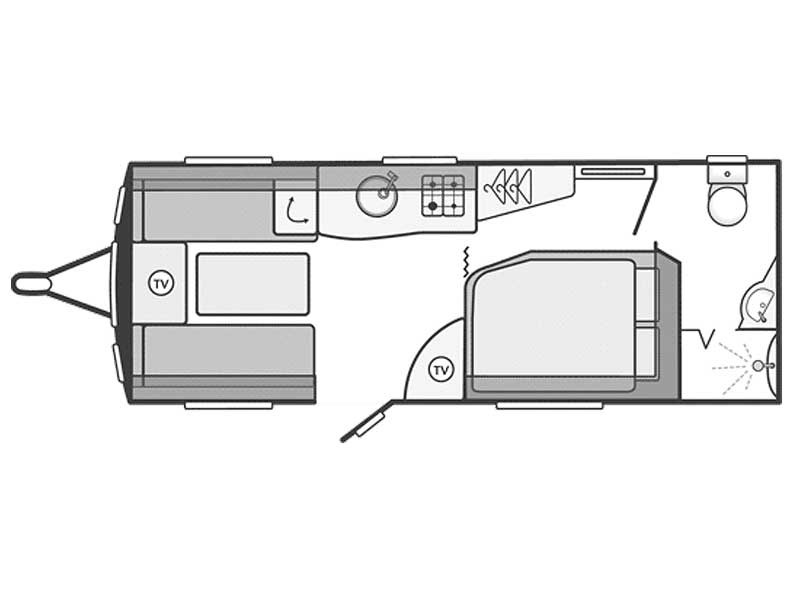 Swift Challenger SE 570 Layout