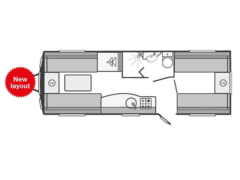 Swift Challenger SE 590 Layout