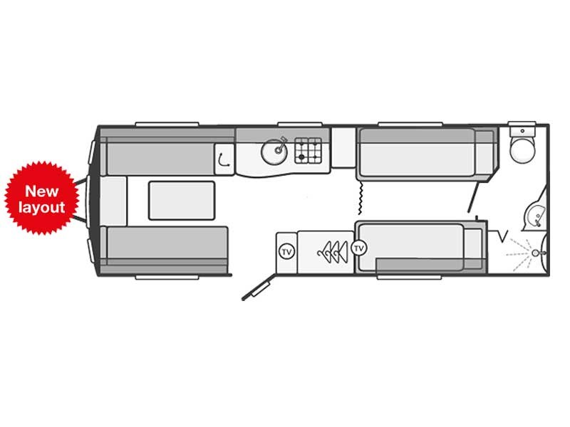 Swift Challenger SE 620 Layout