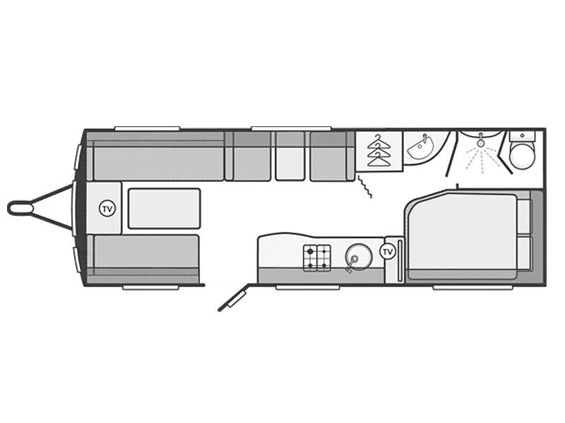 Swift Challenger SE 625 Layout