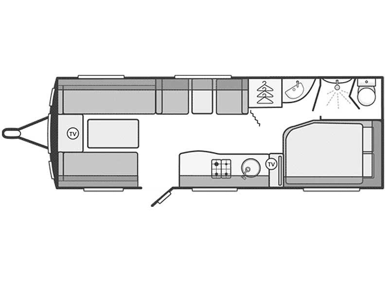 Swift Challenger SE 630 Layout