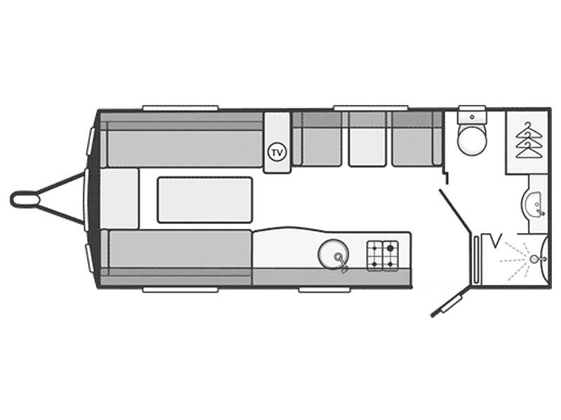 Swift Challenger Sport 524 Layout