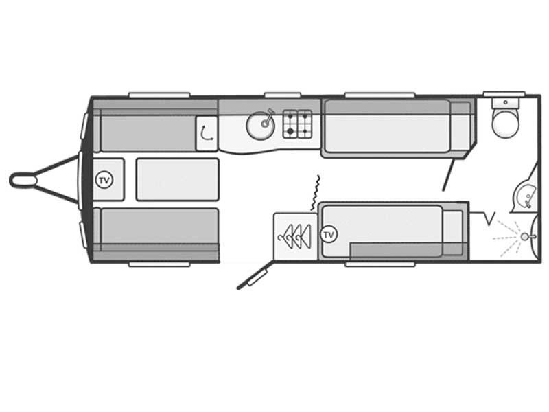 Swift Challenger Sport 564 Layout