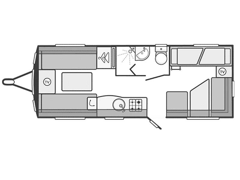 Swift Challenger Sport 586 Layout