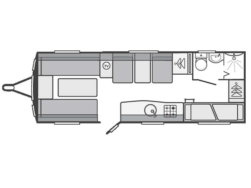Swift Challenger Sport 636 Layout