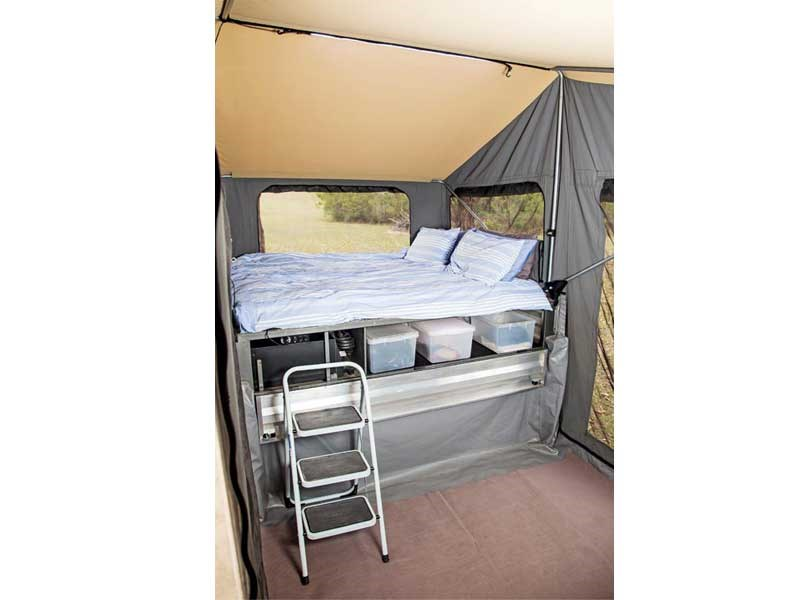 New IMPACT TRAY CAMPERS DUAL CAB Camper Trailers For Sale