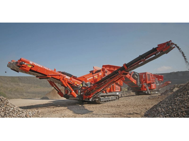 Terex Finlay 863 Heavy Duty Screen