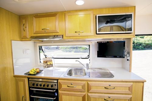 Evernew 50th Anniversary Caravan Interior