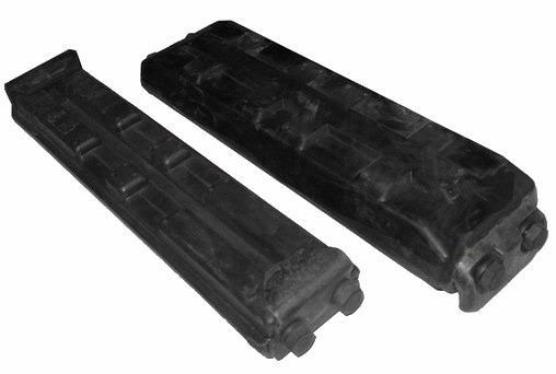 unknown bolt on rubber pads for excavators 108651 002