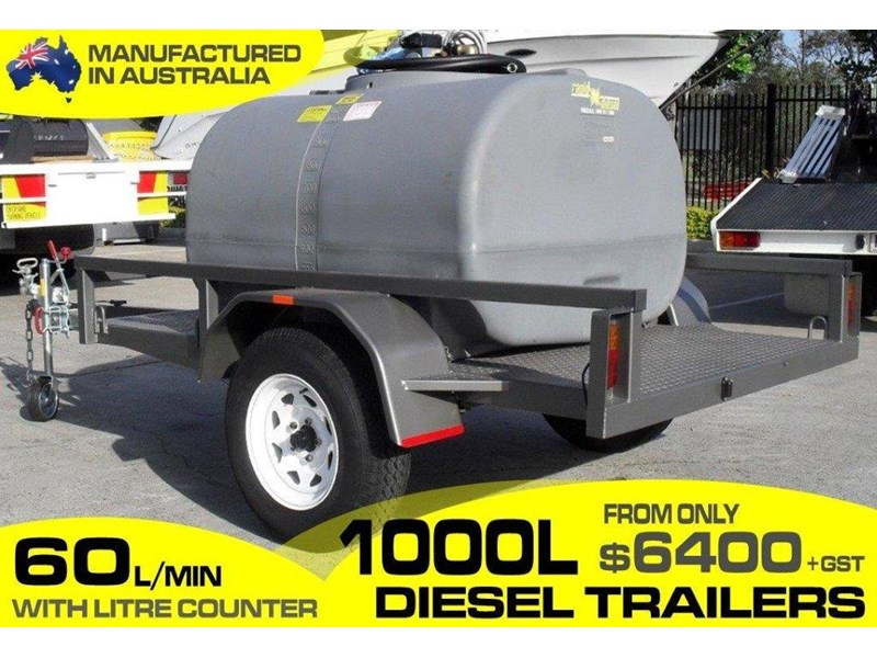 lockable & secure poly 1000l cartage diesel trailer [on road] [tfpoly] [attftrail] [ duc1000lfb60-t] 243075 001