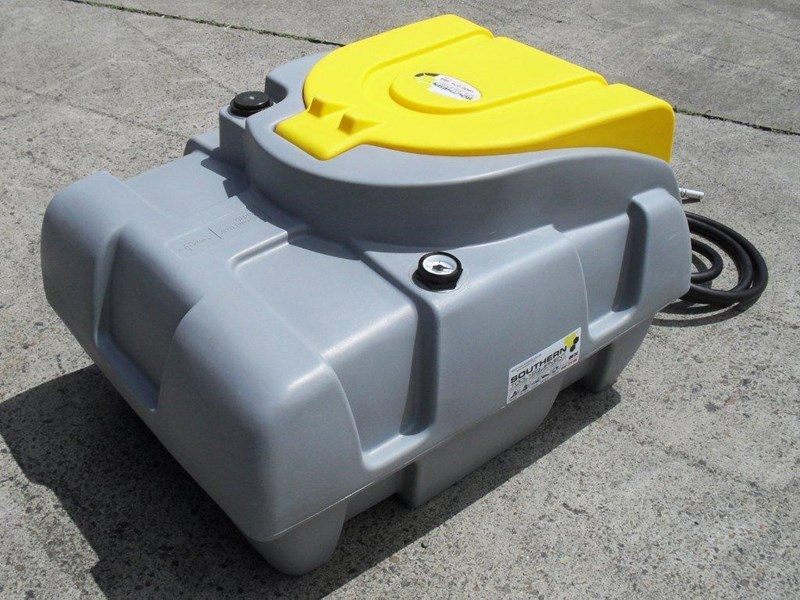 lockable & secure poly diesel fuel tank 200l / diesel unit [dmp200-std] [tfpoly] 243018 008