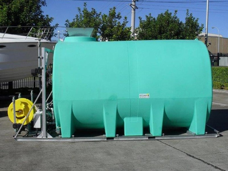 water tank 13000 l washing / dust suppression unit / free standing water tank [ptc13000-dust] [tfwater] 243490 002