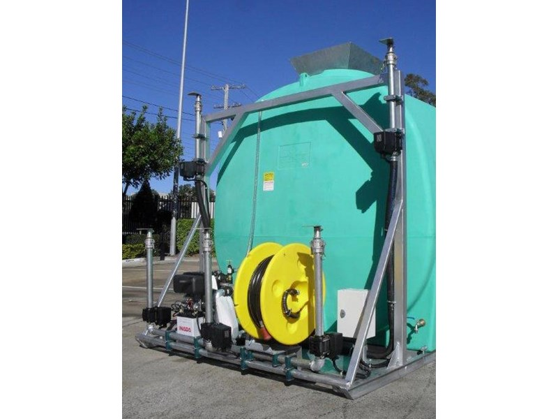 water tank 13000 l washing / dust suppression unit / free standing water tank [ptc13000-dust] [tfwater] 243490 003