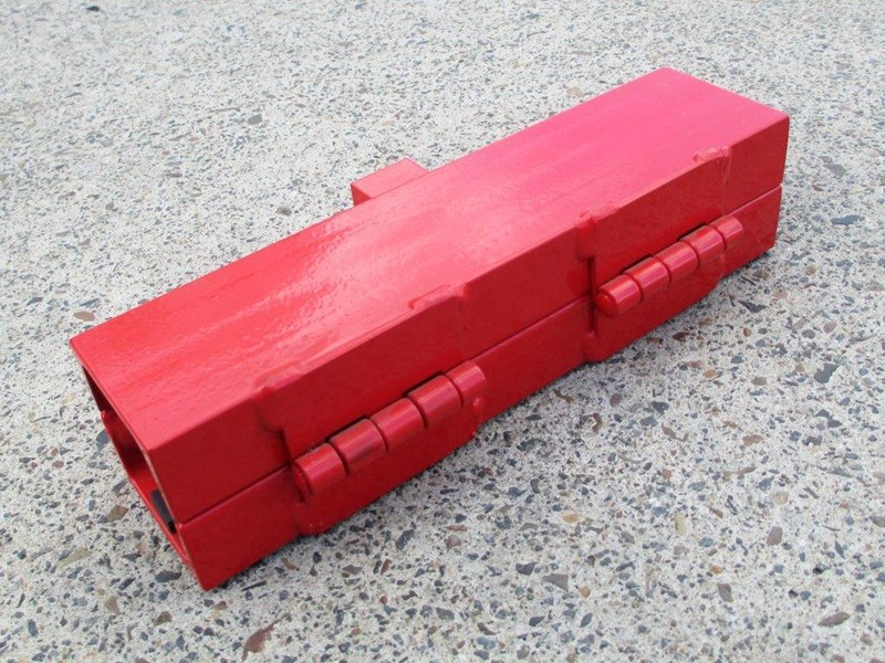 equipment lock backhoe loader stabilizer lock [tflock] 243730 002
