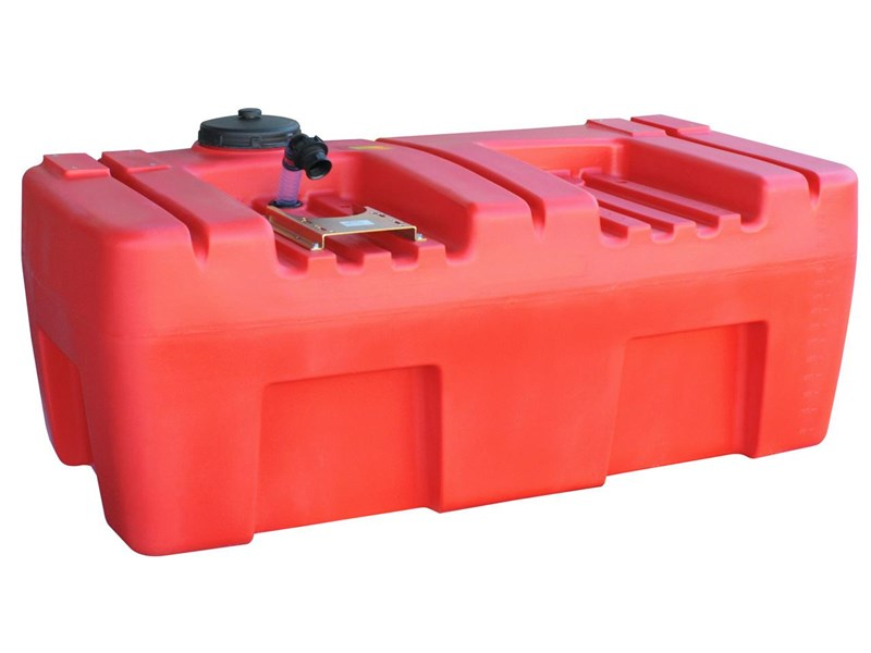 polyethylene fire fighting unit 800l [bare / no pump] [sqf800b] [tffire] 243698 001