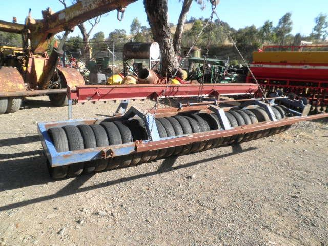 eddington 16' multi tyre roller seeder 256219 001