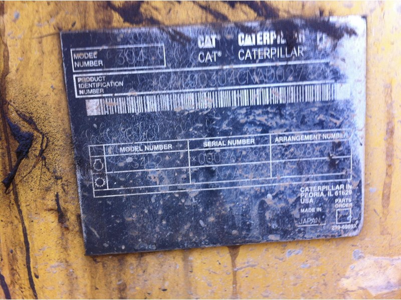 caterpillar cat 304cr 261888 002