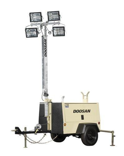 doosan l20-60hz lighting tower 269835 002