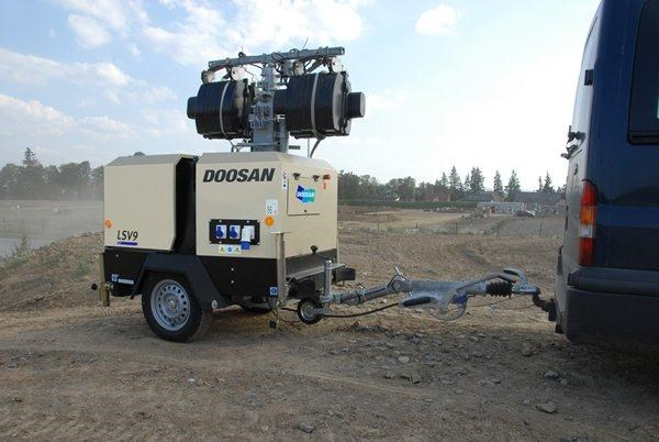 doosan lsv9-50hz-ce lighting tower 269813 006