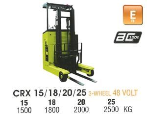 clark crx13 electric reach truck 270498 001
