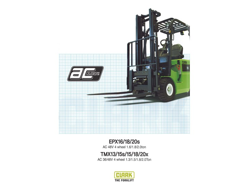2015 clark epx20s electric forklift for sale for Forklift electric motor for sale