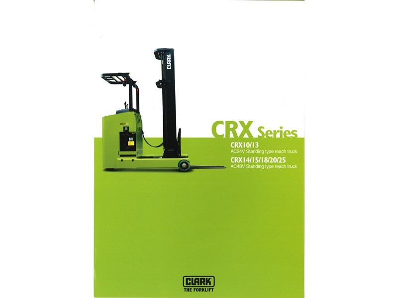 clark crx13 electric reach truck 270498 002