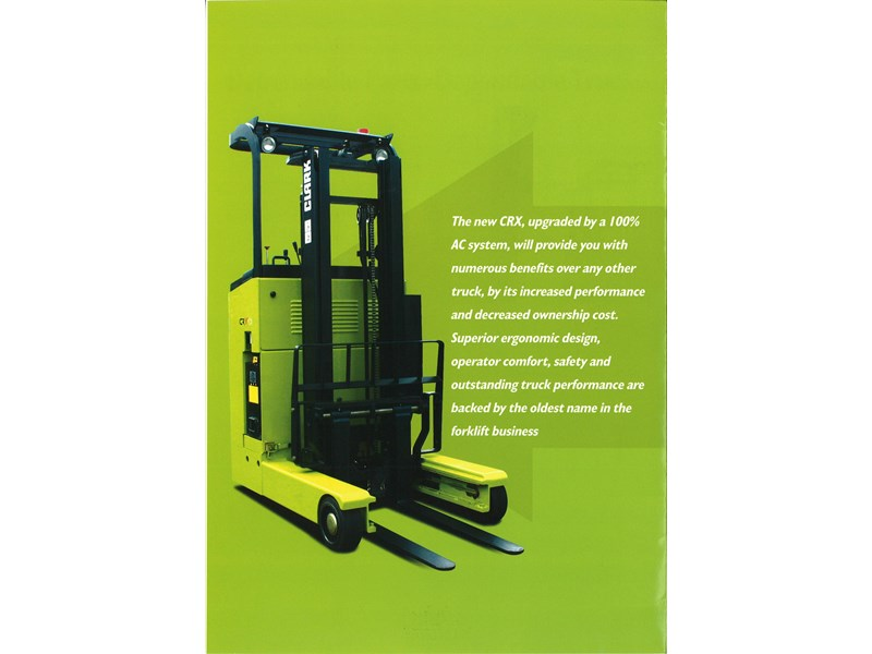 clark crx13 electric reach truck 270498 003