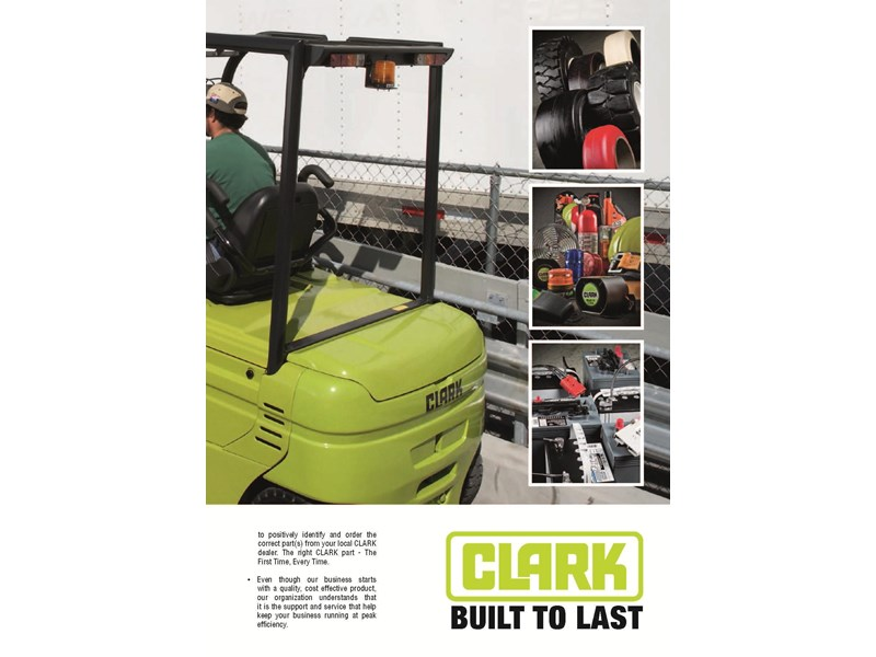 clark gex25 electric forklift 270483 008