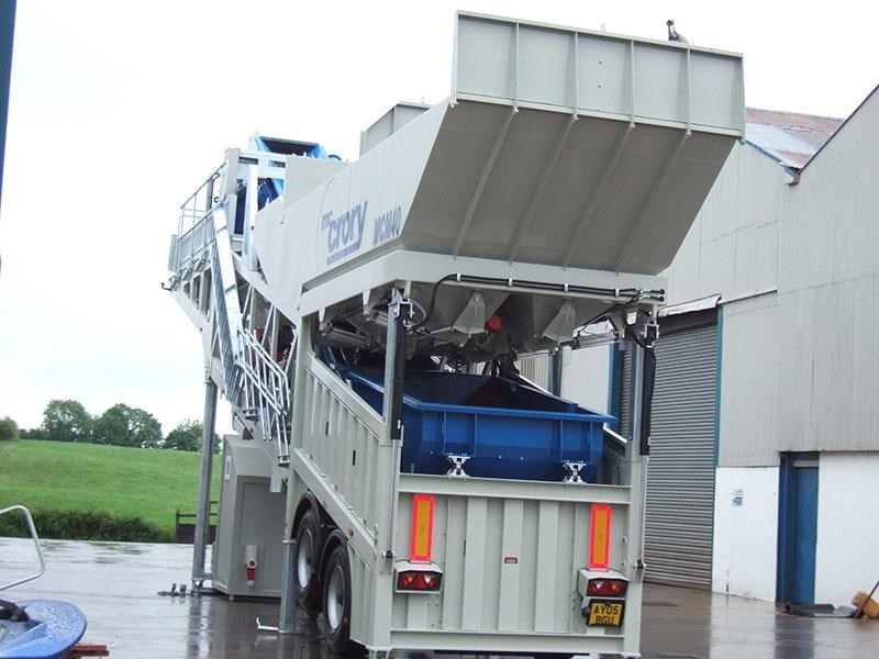 mccrory mcm-40 mobile concrete batching plant 272974 004