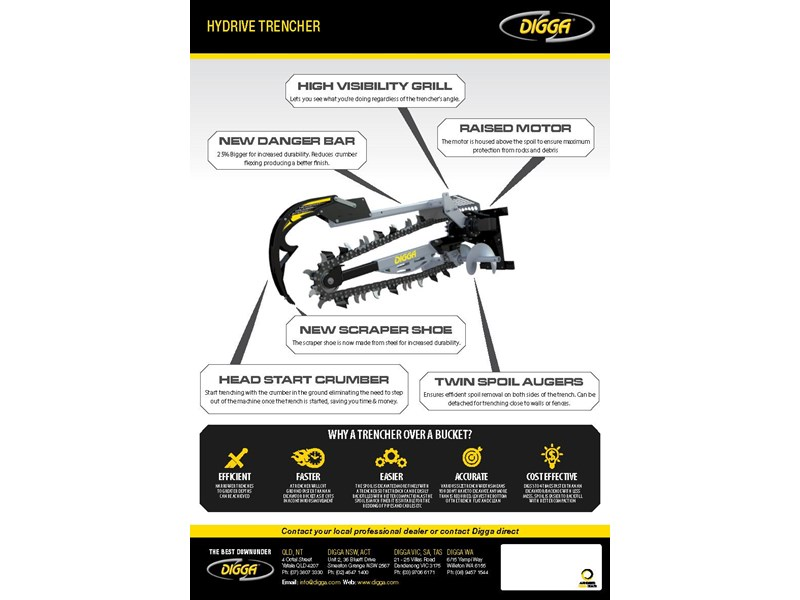 digga 900 hydrive trencher 273353 002