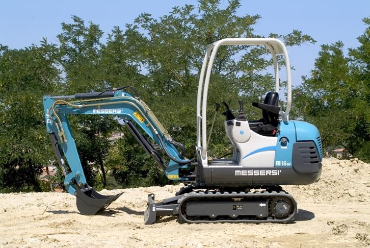 messersi m-16bv mini excavator 273936 001