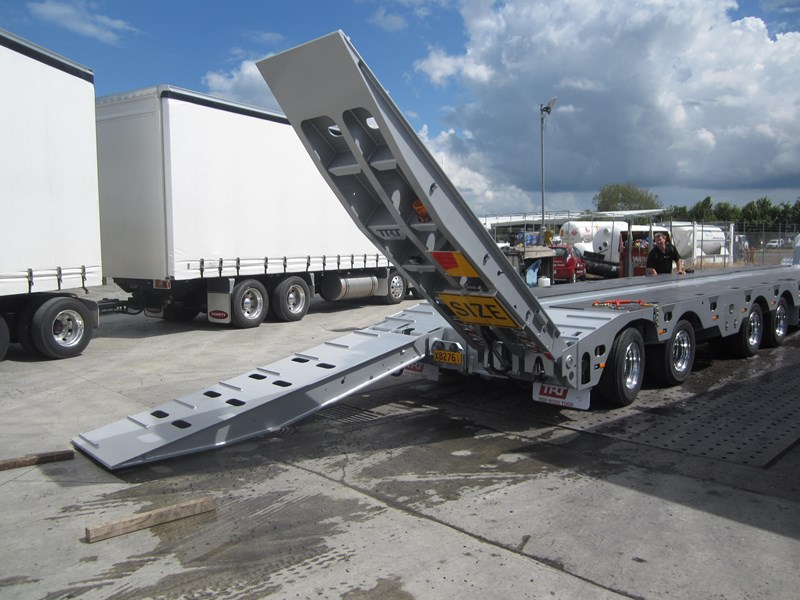 trt new trt quad axle widening low loader with 1 rear steer 193557 009
