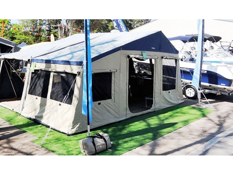 custom made camper oztrail tent 12 274812 001