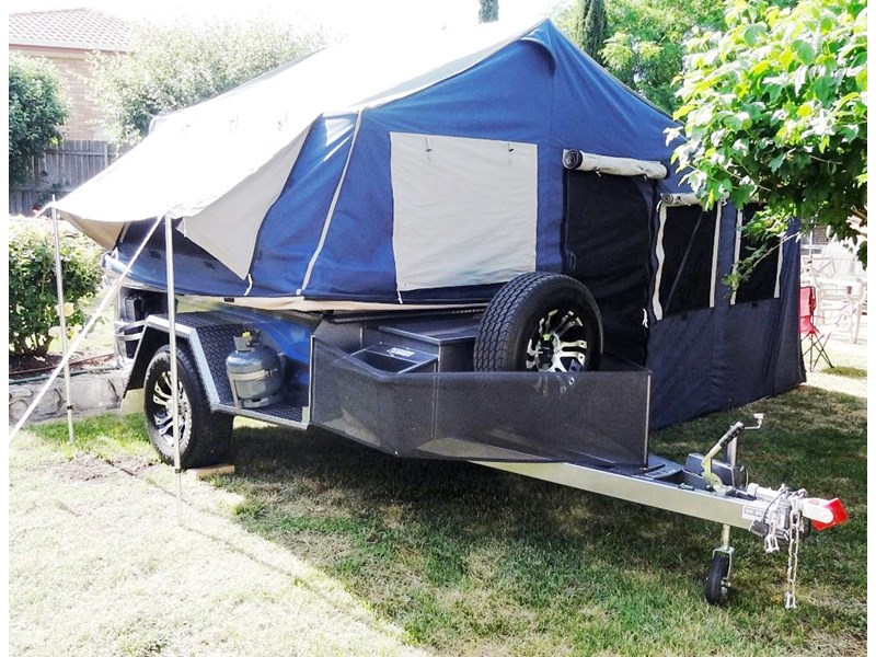 custom made camper oztrail tent 12 274812 009