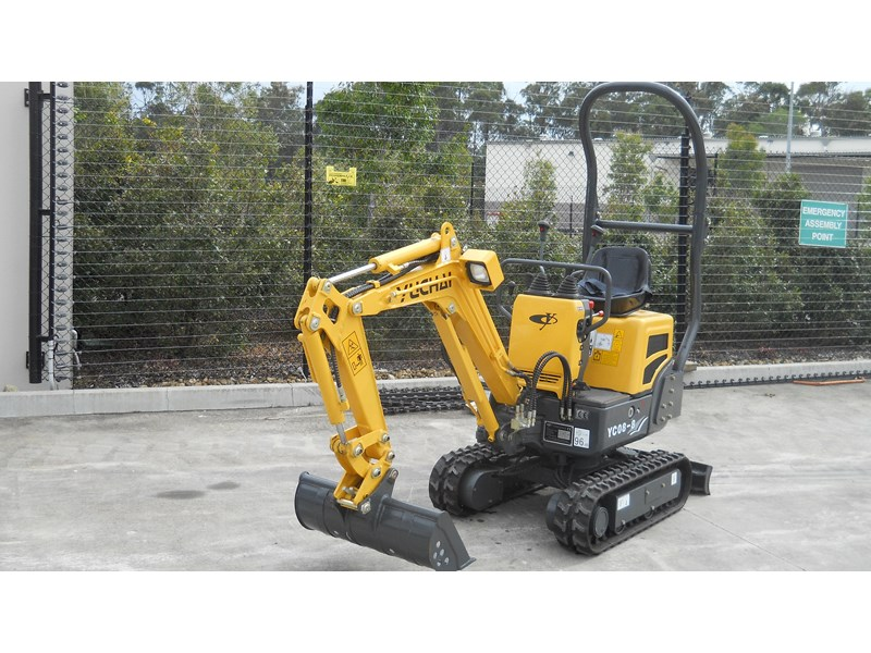 yuchai yc08-8 excavator and trailer combo 275748 006
